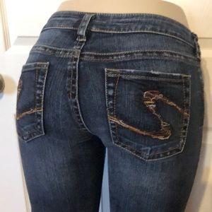 Silver jeans size 29/32 Aiko style Straight leg